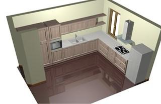 Progetti benaglio arredamenti zona industriale prato - Progetto cucina angolare ...